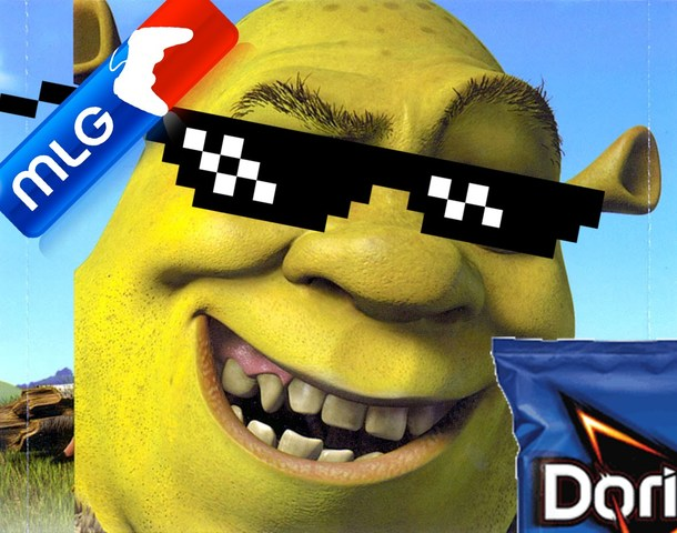 SHREK IS GOD