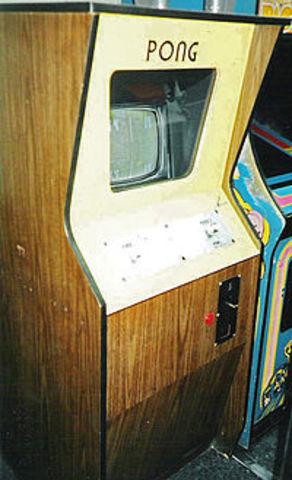 Surgimento das consolas de jogos - Pong