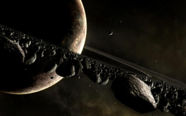 Начало исследования Сатурна