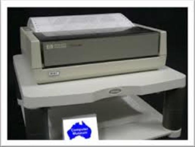 HP pioneira na tecnologia de jacto de tinta