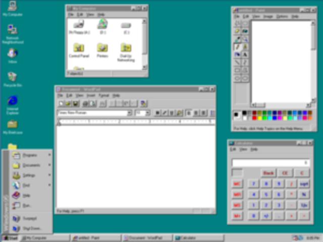"""Microsoft lança o Windows 95 com suporte a """"ligar e usar"""""""