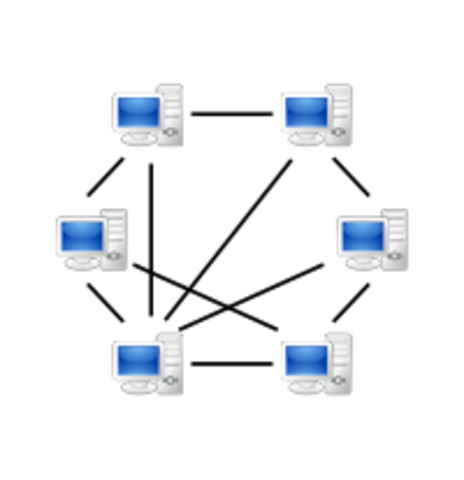 Começa-se a falar em P2P (peer-to-peer) devido à Napster