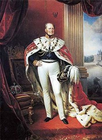 Frederick William IV is offered the Throne.