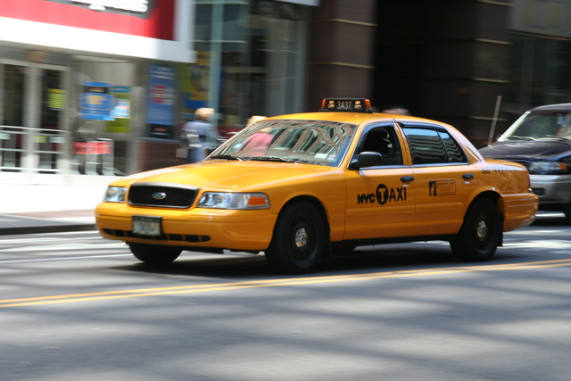 Taxi to 1st Challenge