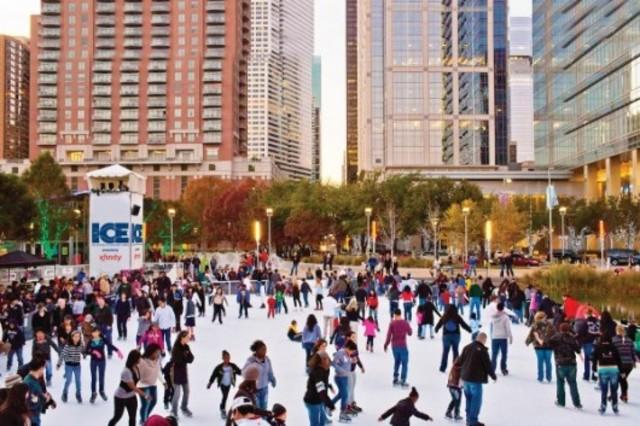 (4) Skating at Campbell Avenue Park