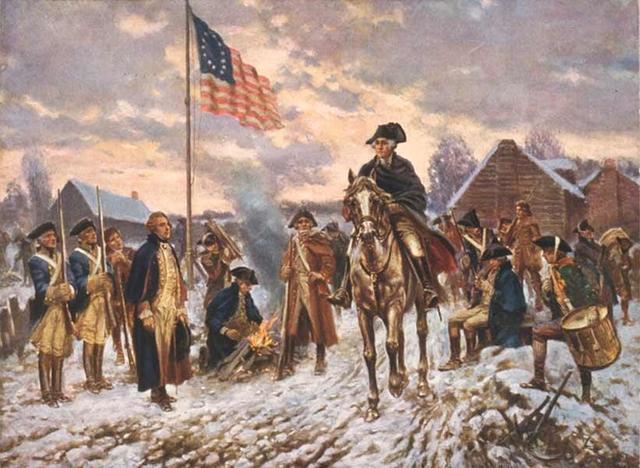 Начало войны за независимость США