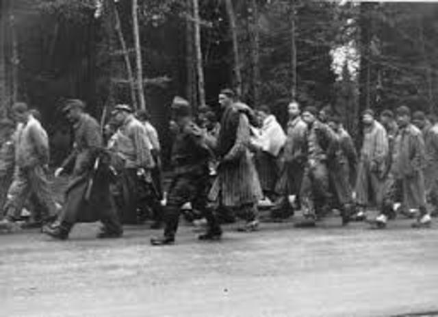 Forced evacuation of Auschwitz (a.k.a. the Death Marches)