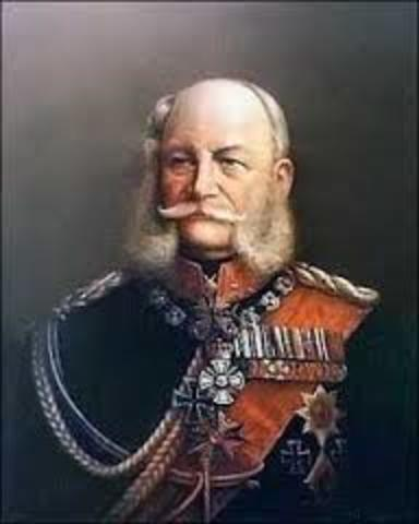 William I becomes Emperor of Prussia