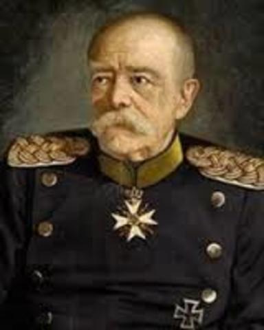 Bismark became Chancellor