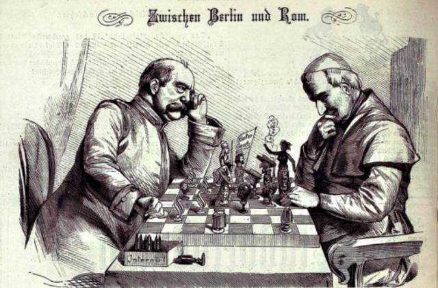 The Kulturekampf (Campaign against Church)