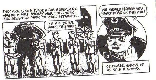 Vladek is taken as a prisoner of war