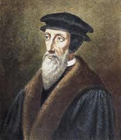 Calvinism is born