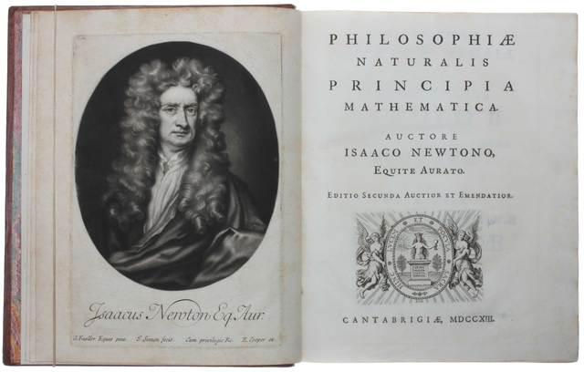 Principia Mathematica is published