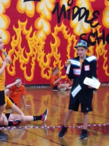Moundsville Middle School Jump Rope Team