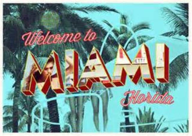 Final flight to Miami