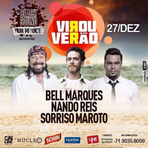 Show em Salvador com Nando Reis