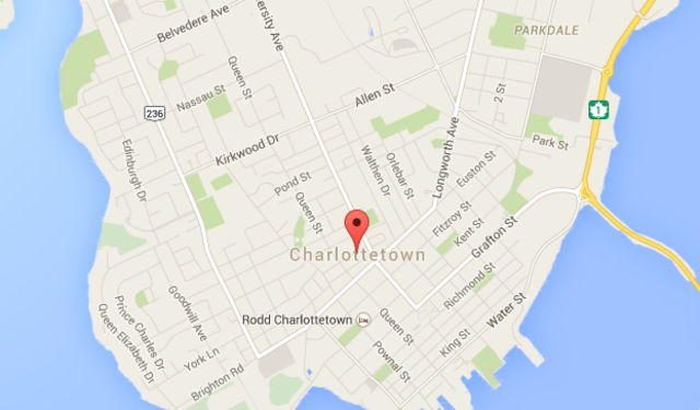 Large Scale Map of Charlottetown