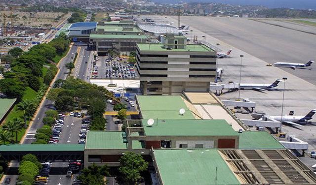 Arrive in Carcas, Venezuela