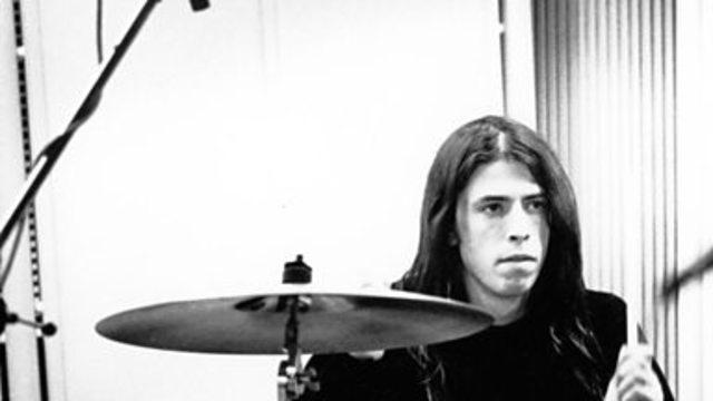 Дэвид грол новый барабанщик ''NIRVANA''