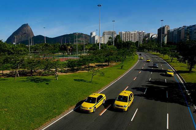 Arrive in Brazil/Taxi to Dock