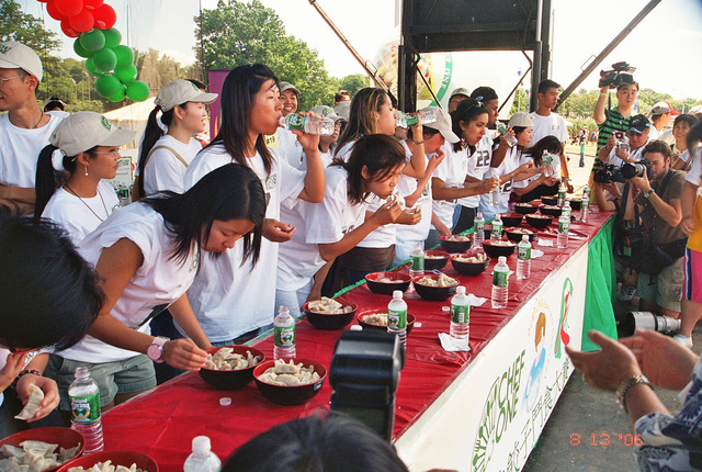 (16) Participate in the Dumpling Eating Contest