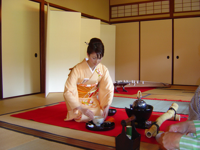 Sankei Garden Tea Ceremony (part 3)