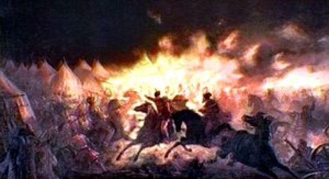 Vlad the Impailer's Night Attack