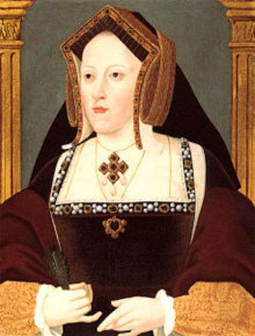 Henry VIII and Catherine of Aragón wed