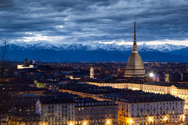 Flight to Turin, Italy