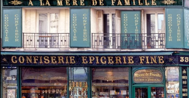 Paris candy stores