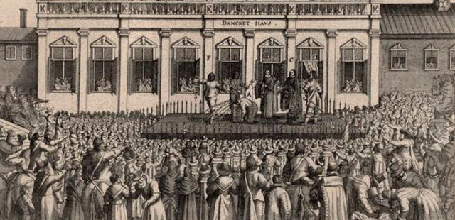 Conflict Between Parliament and King of England