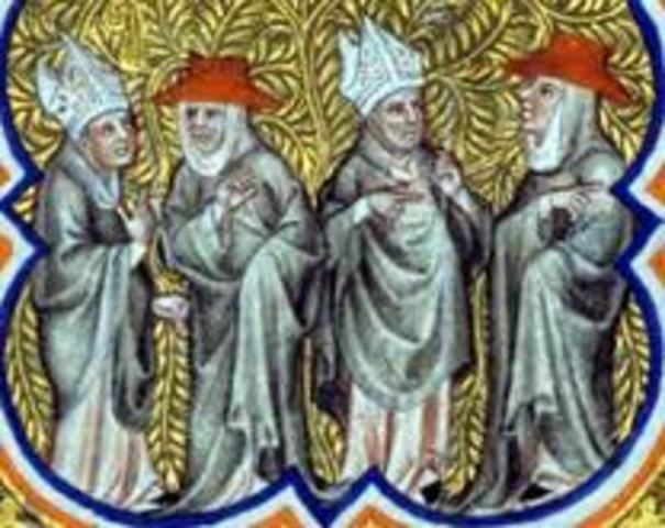 council of Constance burns Hus and ends Great Schism