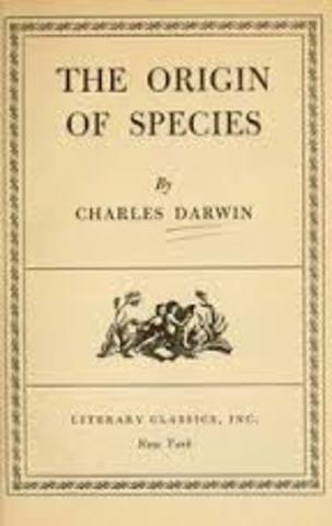 Origin of the Species is published