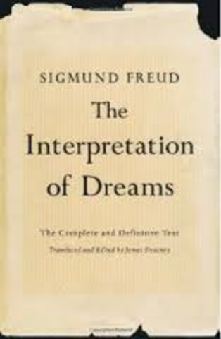 """Freud publishes """"Interpalation of Dreams"""""""