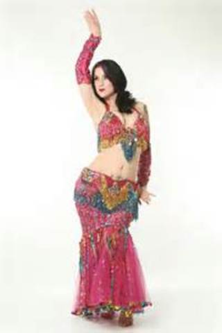 The Team Will Practice Bellydancing at the Banjara School of Dance and Record Themselves, Then Upload the Video