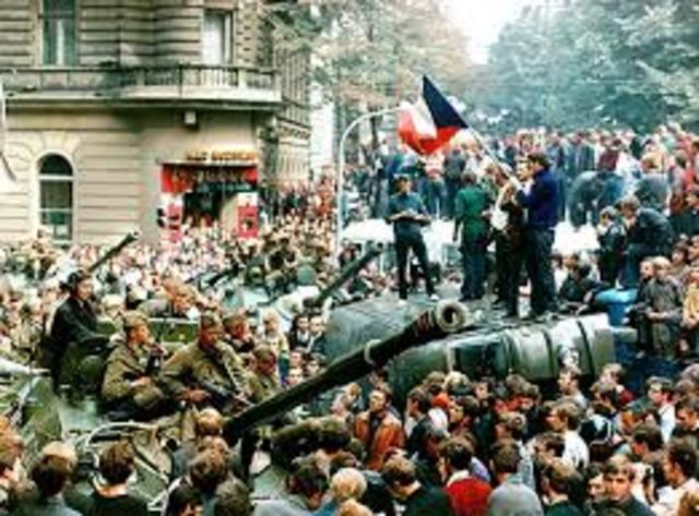 Prague Spring Revolt