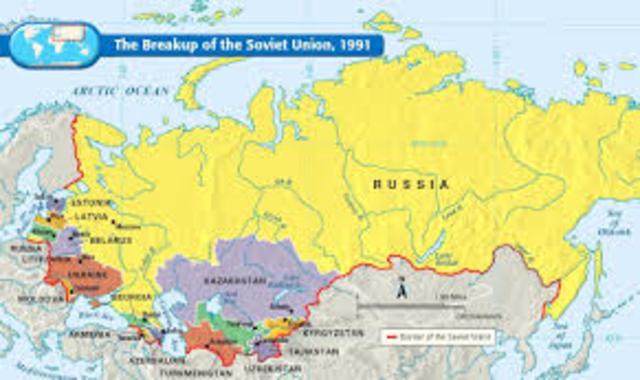 Break-up of Soviet Union