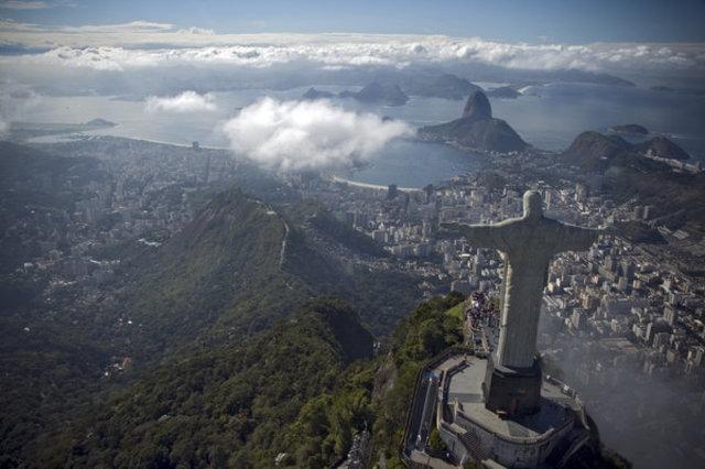 Flight from Denmark to Rio de Janeiro