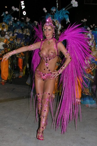Change into our Costumes for Carnival and Help with the Preparations for Carnival