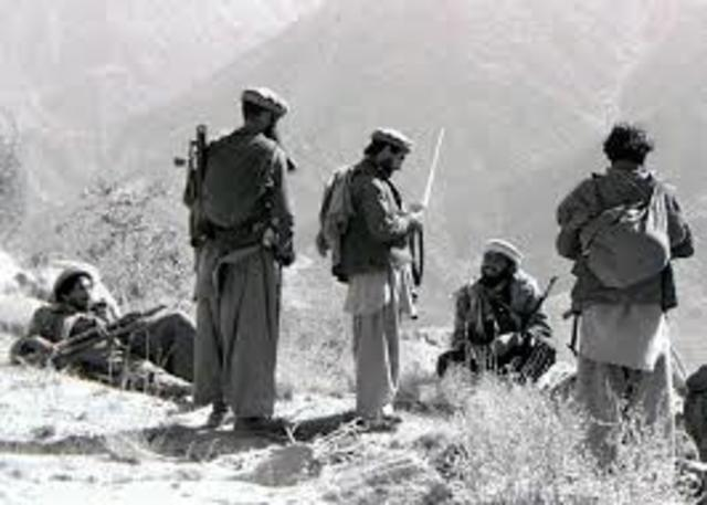 Soviet Union attacks Afghanistan