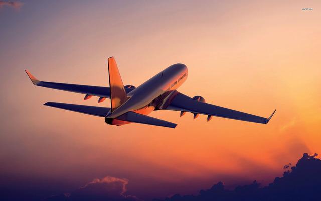 Airplane to Singapore