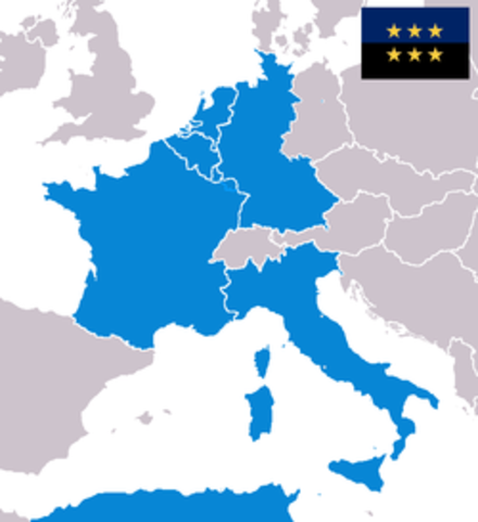 European Coal and Steel Communtiy (ECSC) formed