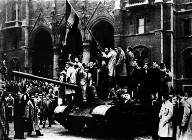 Khrushchev's de-Stalinization speech; Hungary Revolt