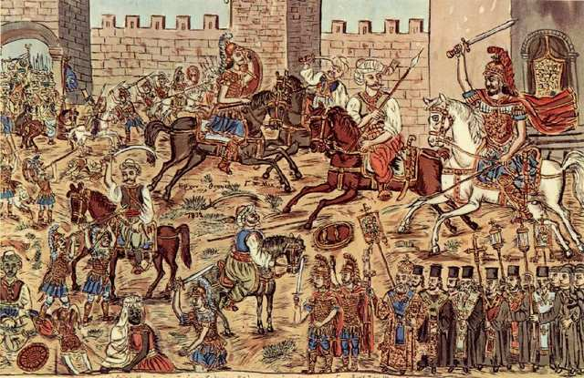 Fall of Constantinople; end of Hundred Years' War
