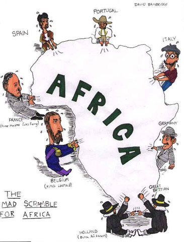 Berlin Conference over imperialism in Africa