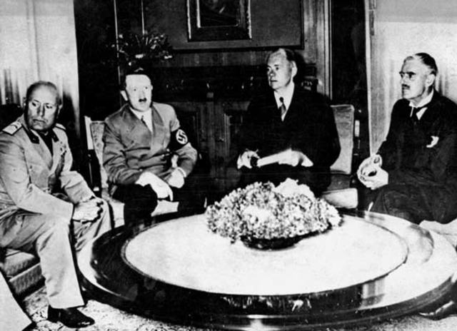Munich Conference-height of appeasement