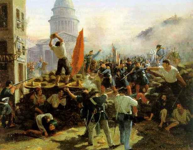 "Revolutions of 1848; Marxmand Engeks publish ""Communist Manifesto"""