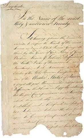 Treaty of Paris ends 7 years war