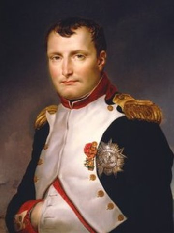 Napolean comes to power in France