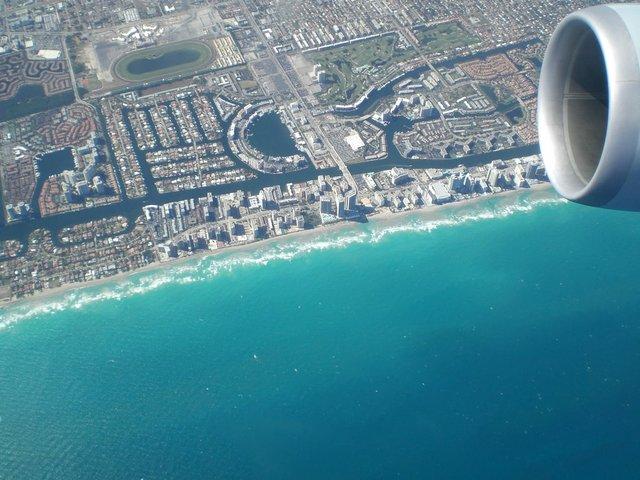 Flight from Rio de Janeirio to Miami